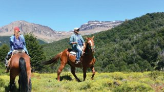 cheval en patagonie - vacances en argentine
