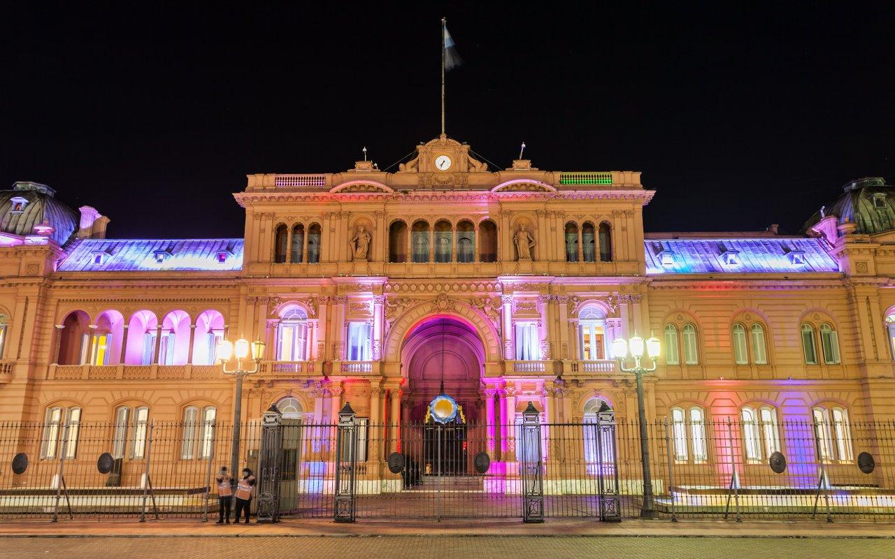 casa rosada - argentine alberto fernandez président