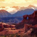 montagnes rouges à Cafayate, provin ce de Salta, Argentine
