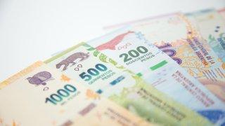 Nouveaux billets de banque en Argentine