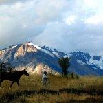 el chalten, gaucho avec son cheval