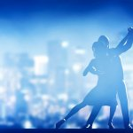 couple dansant le tango
