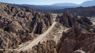Rallye Argentine & Chili voitures anciennes : repérage terrain