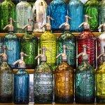bouteilles de soda au marché de san telmo