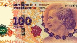 billet evita peron, argentine