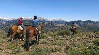 Randonnée à cheval avec une communauté mapuche en Patagonie