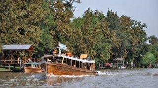 delta du tigre, lanchas de madera