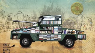 a Tank Armored with 900 Free Books