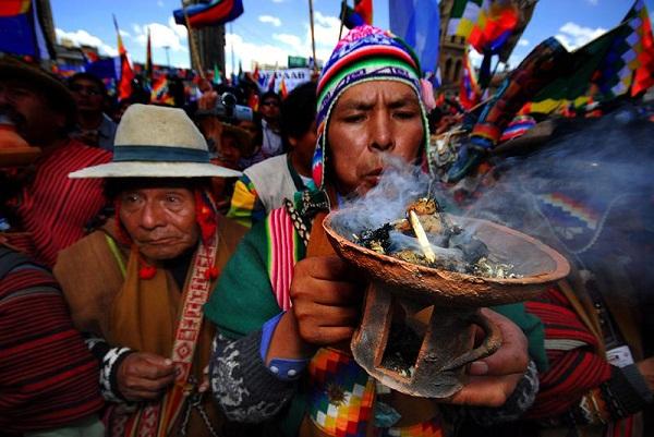 célébration de la Pacahamama