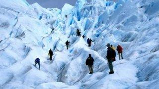 marche sur le glacier perito moreno