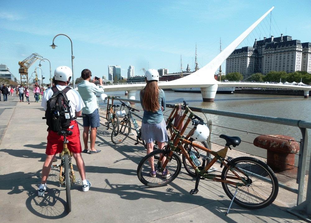 puerto madero à vélo