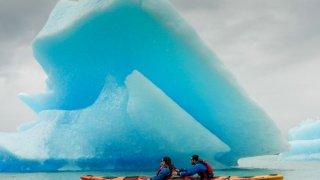 kayak patagonie glaciers