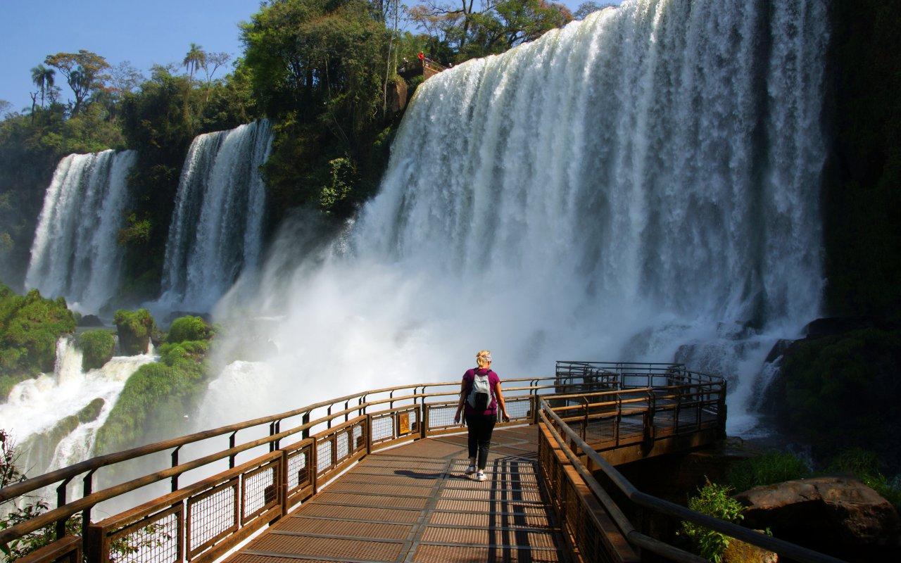 chutes iguazu argentine voyage