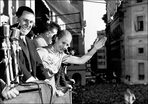 Evaita et Juan Perón