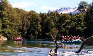 rafting patagonie
