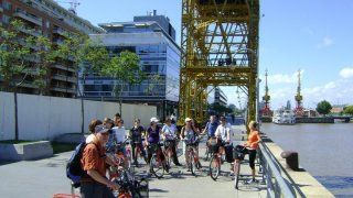 visite en vélo de buenos aires - quartier puerto madero