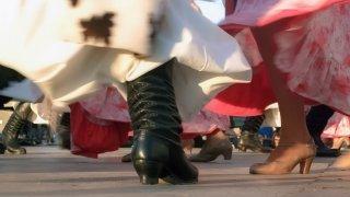 danse folklore argentin feria mataderos