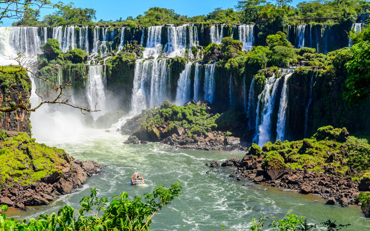chutes iguazu, argentine