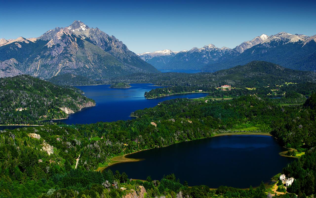 région des lacs de patagonie