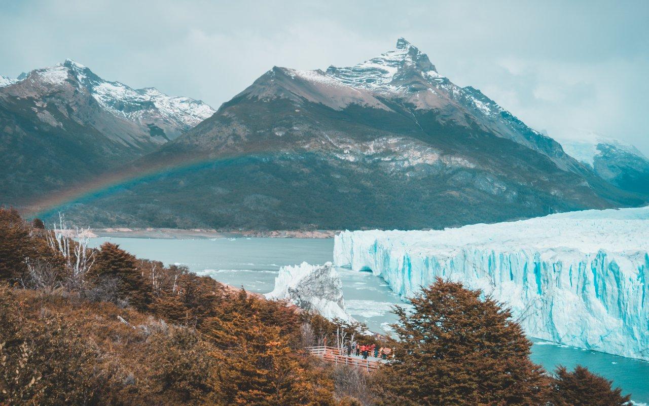 glacier perito moreno jour de pluie