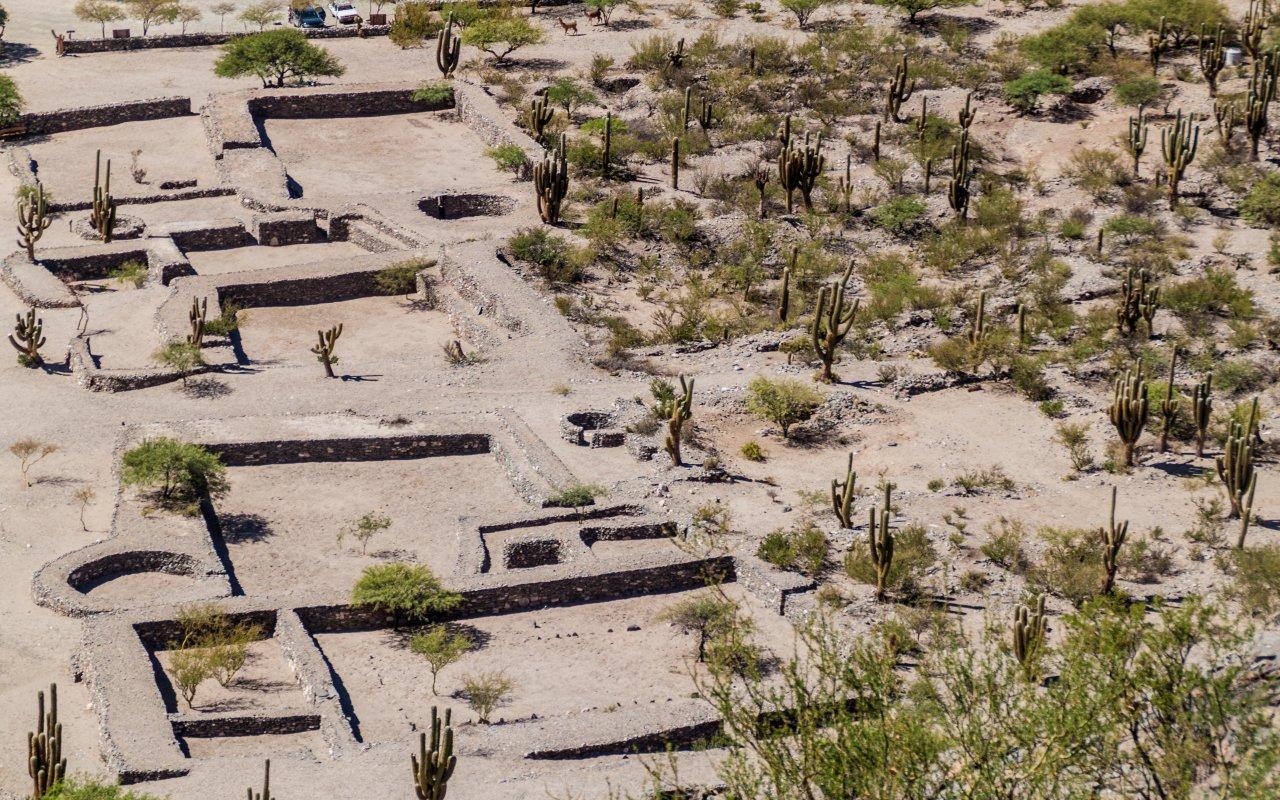 ruines de quilmes - argentine diaguites et invion inca