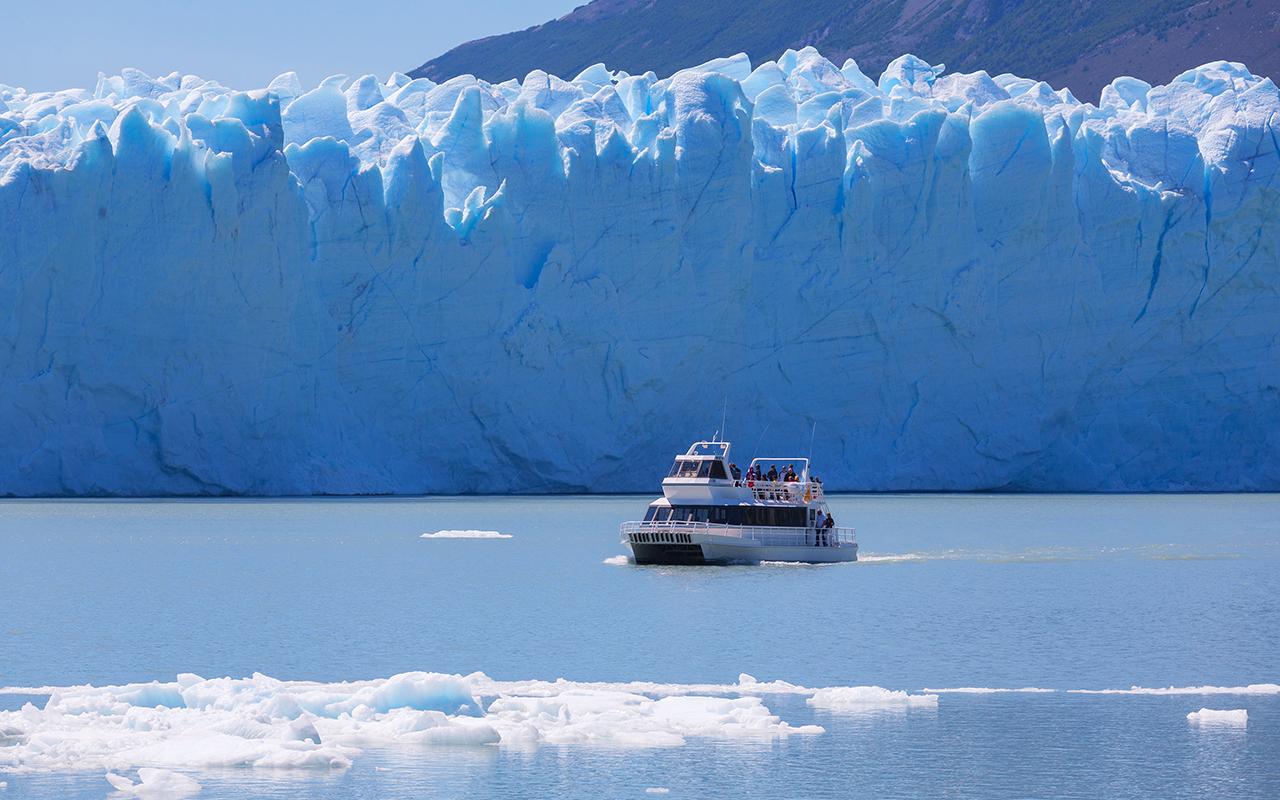 el calafate, parc des glaciers, navigation