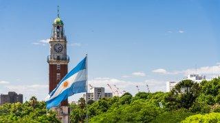 torre de los Ingleses - quartier retiro de Buenos Aires