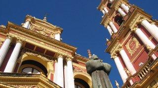 cathédrale de salta, nord-ouest argentin