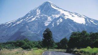 volcan lanin - voyage patagonie